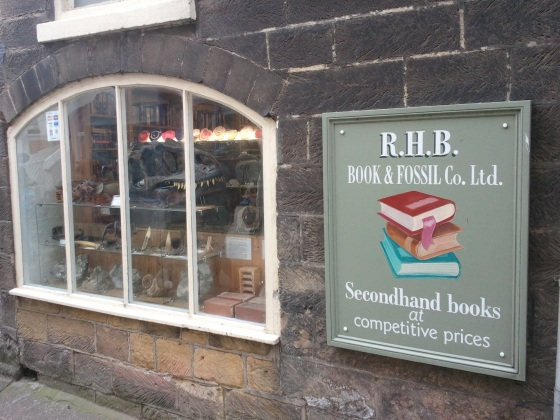 R.H.B. books & Fossils