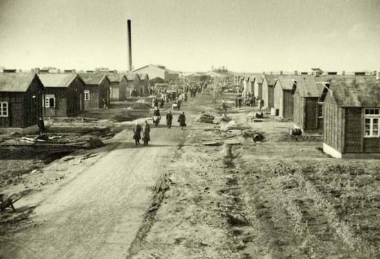 Les barraquements de Westerbrok, le camp de concentration où Etty Hillesum passa 1 an de 1942 à 1943.